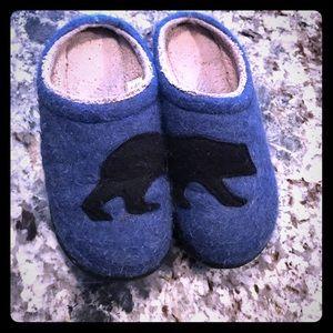 L.L. Bean bear slippers
